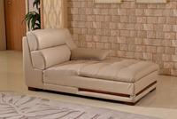 Guangzhou Furniture Good Service Top Grain Leather Living Room Sofa