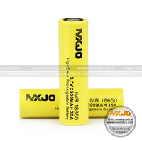 Bateria 18650 aaa rechargeable battery mxjo IMR 18650 2500mah/3000mah 35A 18650 lithium battery