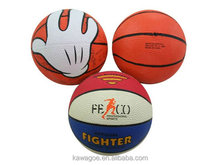Rubber promotion gift mini basketball(EN71,6P)