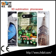 paypal accepted plastic case with aluminum sheet for ipod touch 5 thernal transfer phone cases