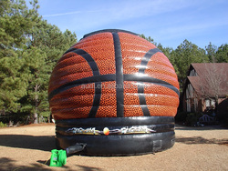 Giant Inflatable Basket Ball Game For Sale