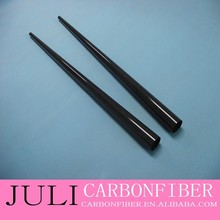 carbon wrapped tapered boom tubes, 1.8 m long from OD 40mm to OD 20 mm, wall thickness 0.5mm,0.8mm,1mm