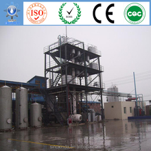 used cooking oil recycling machine to bio fuel with whole sets of plants and technology for sale