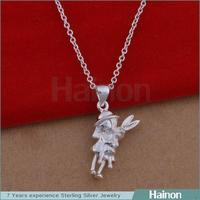 China Supplier For Jewely 2015 Ladies and Rabbit Elegant Pendant Novelty
