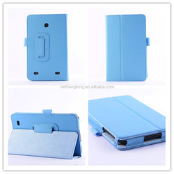 Colors Litchi PU Leather Case With Stand Cover For LG G Tablet 7.0 V400