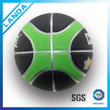 rubber bladder 12 panel basketball all printing custom basketball