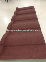 Best-selling Stone coated steel roofing tiles/sheets