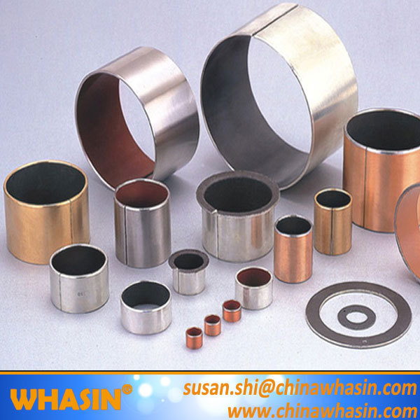 SF-1 Oilless Bearing DU Bushing Metric Or Inch Bronze Based Bearing Carbon Steel Stainless Steel Bushing With PTFE Teflon Bush.jpg
