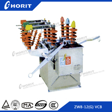 ZW8 11kv 12KV outdoor high voltage vacuum circuit breaker for Distribution Transformer