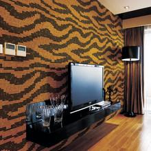 modern gold foil wallpaper