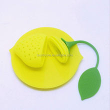 Low price best selling promotion silicone tea infuser