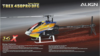 Align TREX 450 3GX PRO DFC Super Combo RC Helicopter KX015087