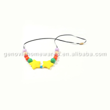 FDA&LFGB approved bubble necklace silicone with great price
