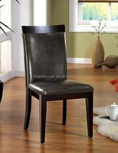 black leather restaruant chair XYN1377