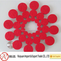 stylish beautiful laser cut felt table runner for home decoration