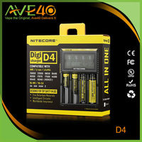 High Quality Nitecore d4 Micro USB 18650 Battery Charger