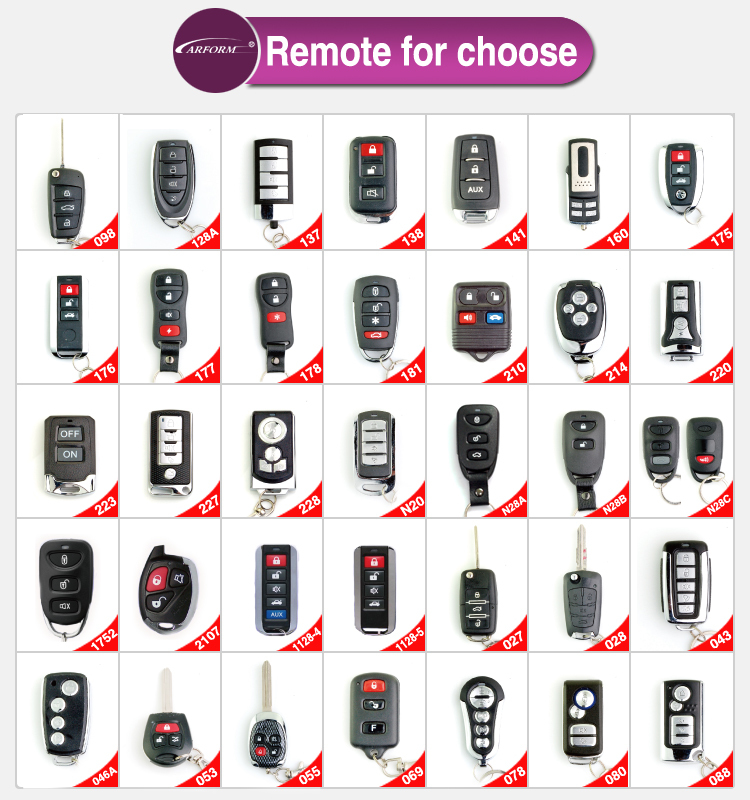 2015 Hot Selling Best Price Remote Control Simple 6 Tone