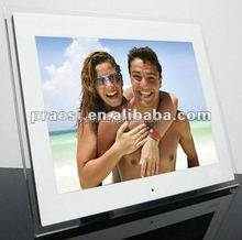 ad player digital frame 15 inch video music with SD card port