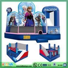 Frozen sales cheap bouncy castle for sale/ inflatable castle