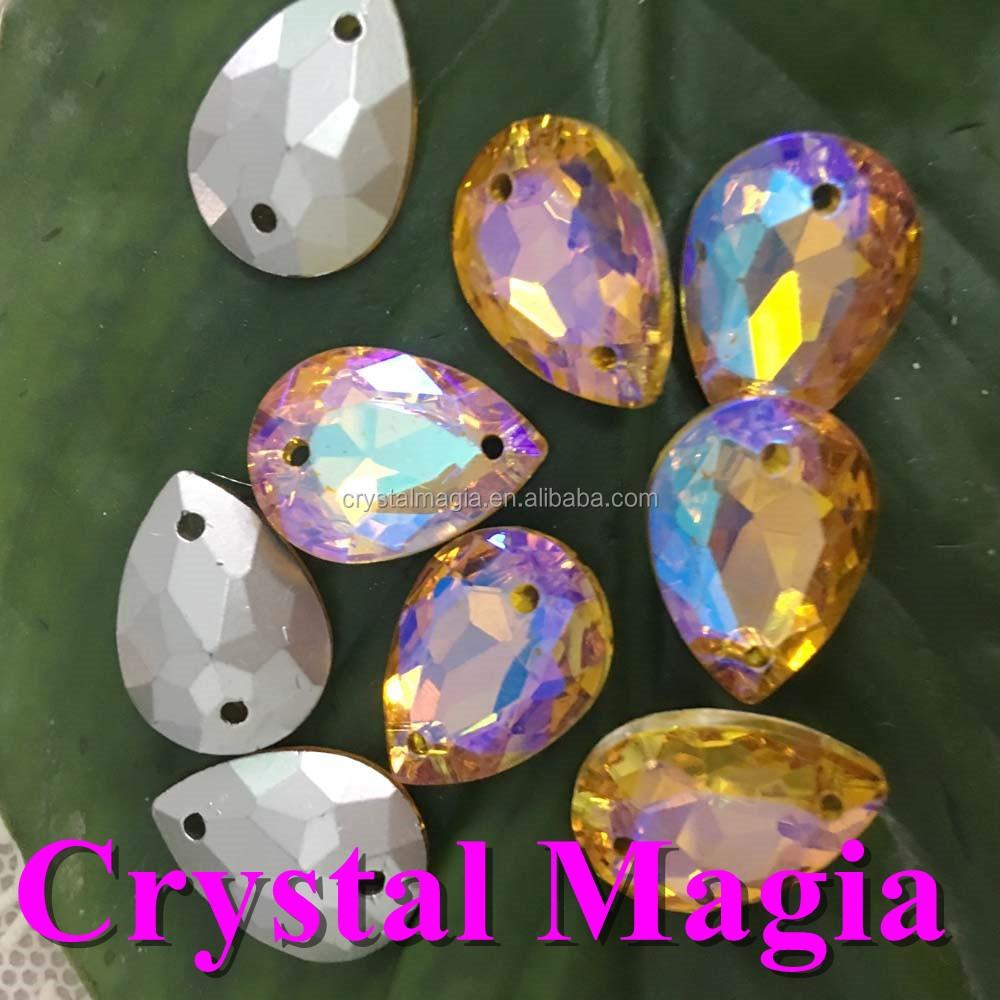 sew on crystal ab rhinestone