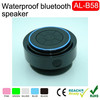 Portable Audio Player,Mobile Phone,Computer Use and 3 (2.1) Channels Mini Waterproof Bluetooth Speaker Suction Cup
