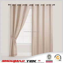 Factory price popular elegant fabric shower curtains