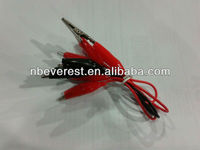 Alligator Test Lead Clip To Banana Plug Probe Cable, Crocodile clip wire