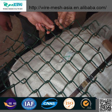 9 gauge galvanized chain link fence supply whole solution including mesh from anping sanxing china