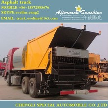 12CBM asphalt distributor truck/ Asphalt gravel synchronous Sealer on hot sale