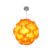 Modern all kinds of patterns volvox jigsaw puzzle Lamps; Lighting iQ Puzzle lamp; pp plastic lamp.