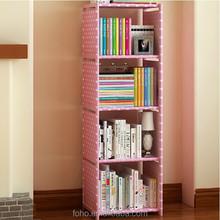 2015 very modern cheap 5 layer office bookcase shelf