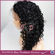 China factory Brazilian 100 curly human hair curly afro wigs for black women