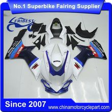 FFGSU005 China Fairings Motorcycle For GSX R750 GSXR750 GSX R600 GSXR600 2011 2013 2014 Dark Blue And White