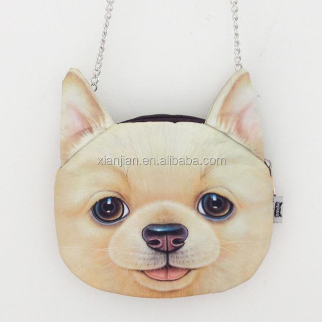 Dog Body Chain Dog Head Chain Shoulder Bag