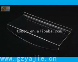 (B-3001)acrylic shoe display rack