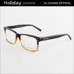 2015 hot sale squire rim optical frame fashion man eyewear glasses acetate material spectacle frames