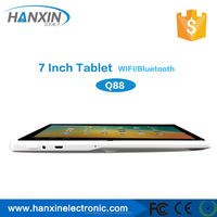 android smart tablet pc 1.2Ghz cheap tablet 2014 super slim 7 inch MID Q88/ Android China Tablet PC