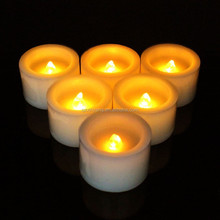 2015 Hot Sale paraffin led wax candle lighting For Christmas Decoration