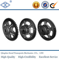 motorcycle drive cast iron conveyor sprocket for 06B-1