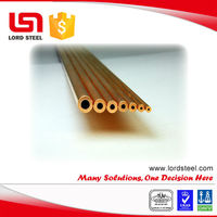Air Conditioning seamless capillary copper tube C12200 C10100