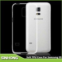 0.3mm Thickness Ultra Thin High Transparent TPU Cases For Galaxy S5