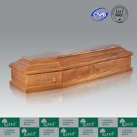 Best Selling Cheap European Style Paper Veneer Funeral Coffin And Casket