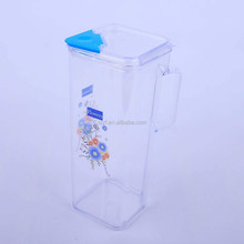 1.7 L Cheap plastic cool water pitcher, water jug, water pot