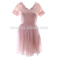 Professional tea length mother of the bride jacket dress made in China