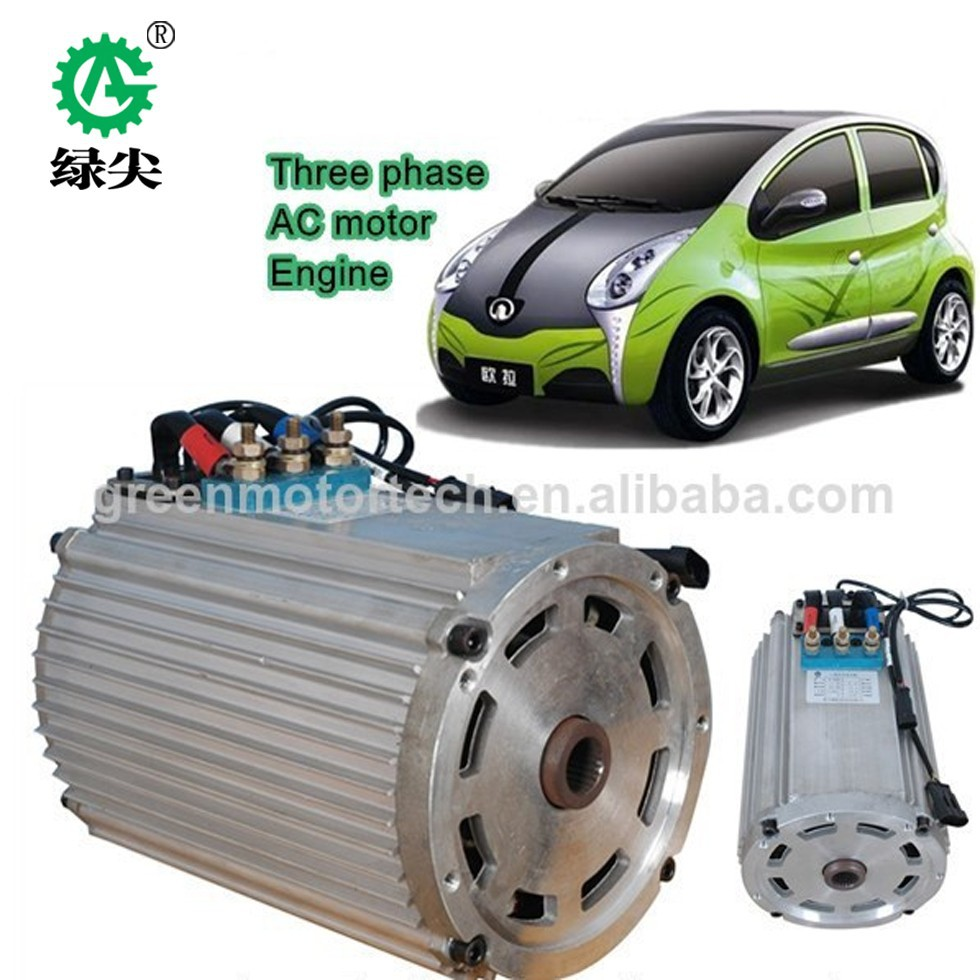 High Power Hub Electric Car Motor Ac Motor 25kw 30kw