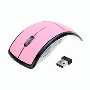 Design elegante 3D dvr sem fio do mouse