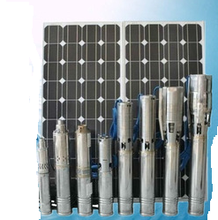 AC DC Low pressure Solar s intelligence DC pump ubmersible pump / 85 battery inverter solar panel