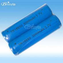3.7v recargable 12v ión litio pack de batería 18650