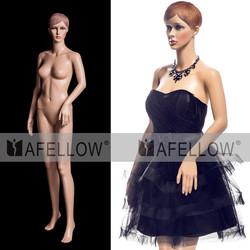 M009-XFF04 plastic adult female dolls , female mannequin , plasitc mannequins