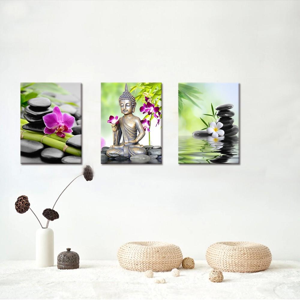 Eetkamer decor wanddecoratie - Deco zen kamer ...